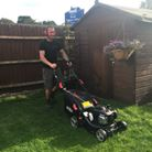 Mowing a lawn is just one of the gardening services we provide
